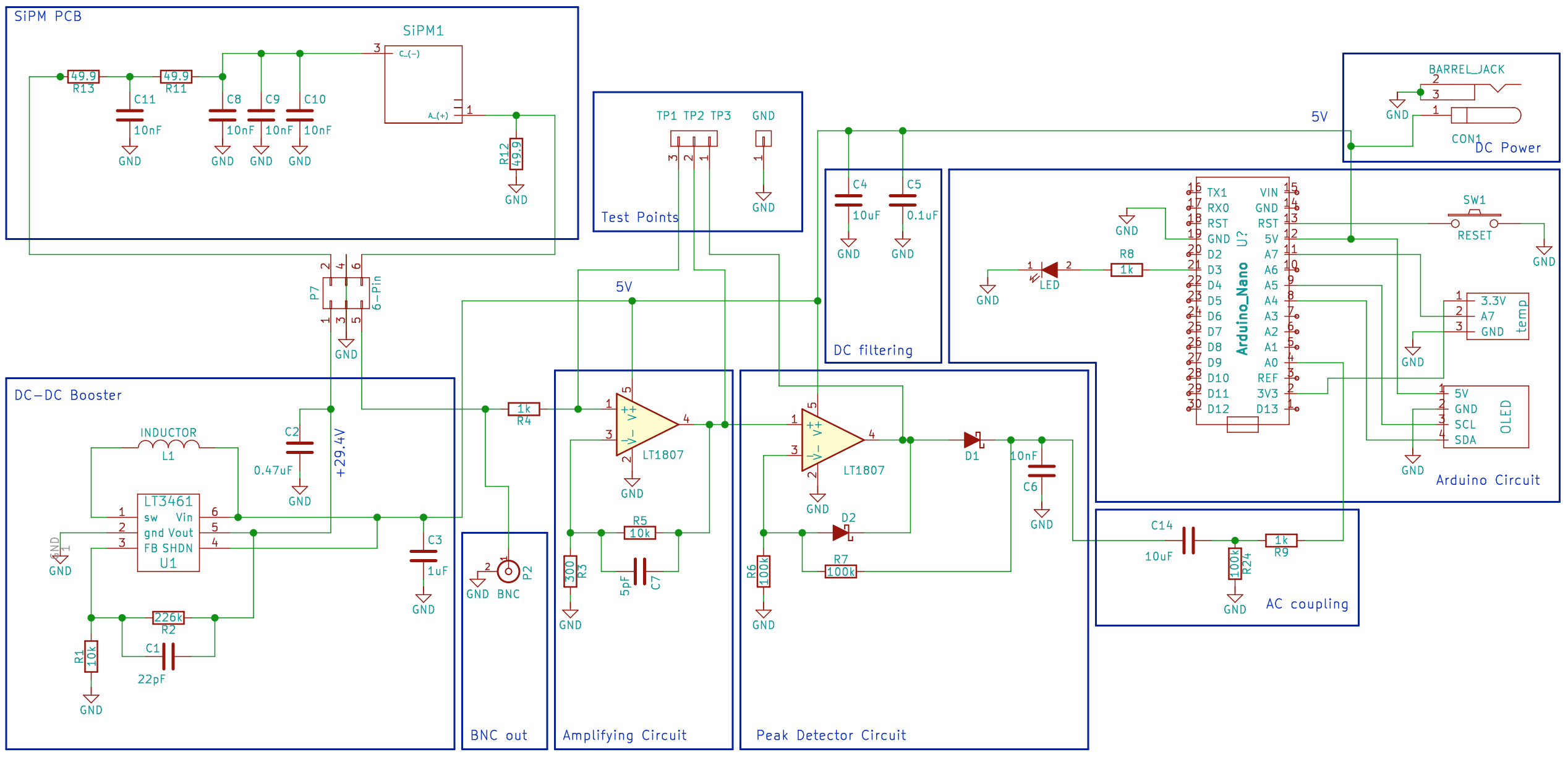 Cosmicwatchcatch Yourself A Muon Parallel Wiring Diagram Hot Rails
